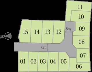 尺土トーブガーデン 区画図